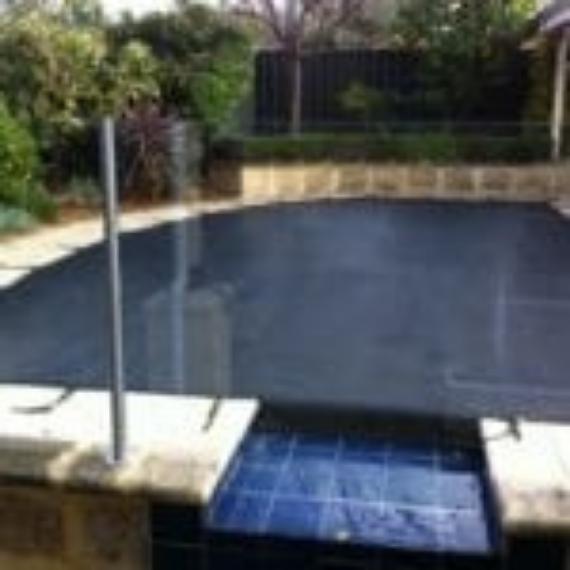 Elite Security mesh Pool cover